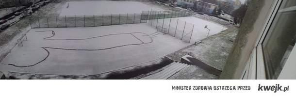 Wesoła zimowa twórczość