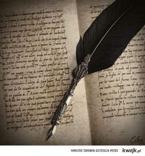 pióro do pisania