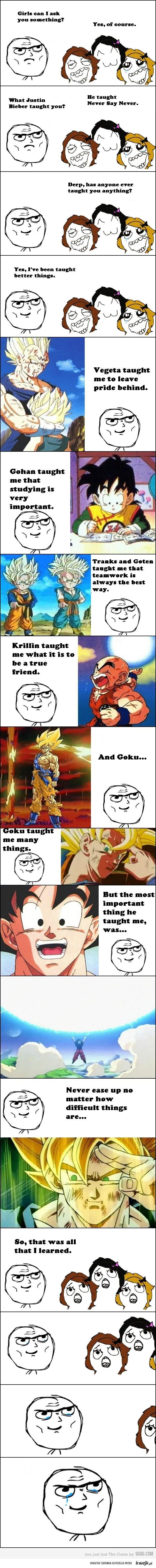 Czego nauczył mnie Dragon Ball ?