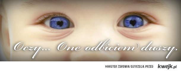 oczy one odbiciem duszy