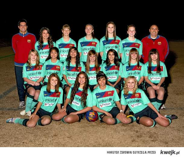 Girls Barca