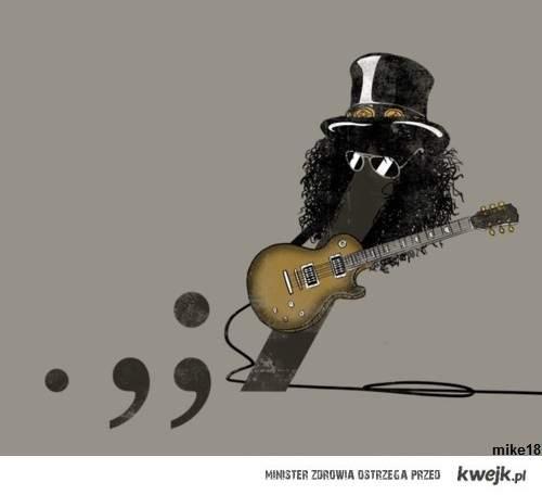 Slash jest tak zajebisty, ze ma swoj klawisz na klawiaturze