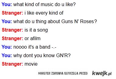 Stranger & GUNS N' ROSES