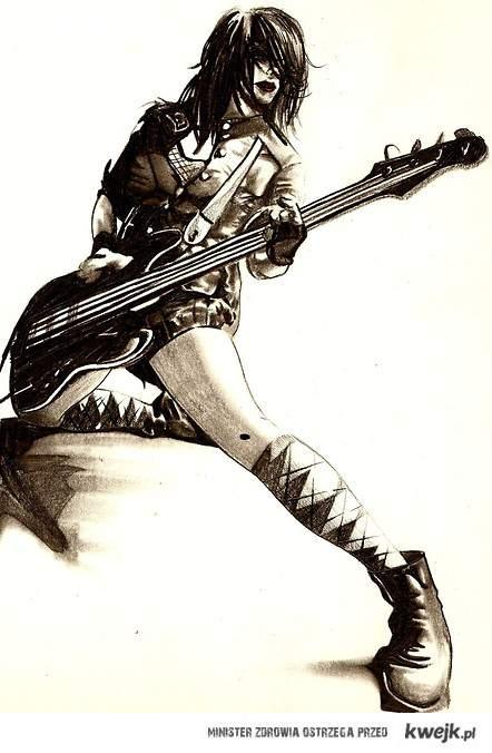 Kobieta + bas