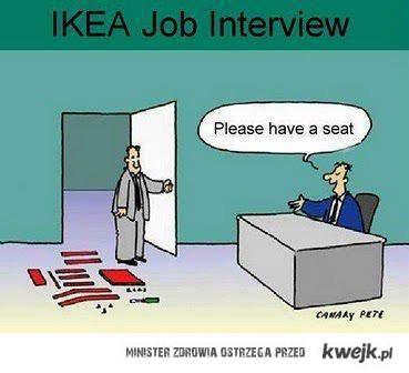 Rozmowa kwalifikacyjna w IKEI