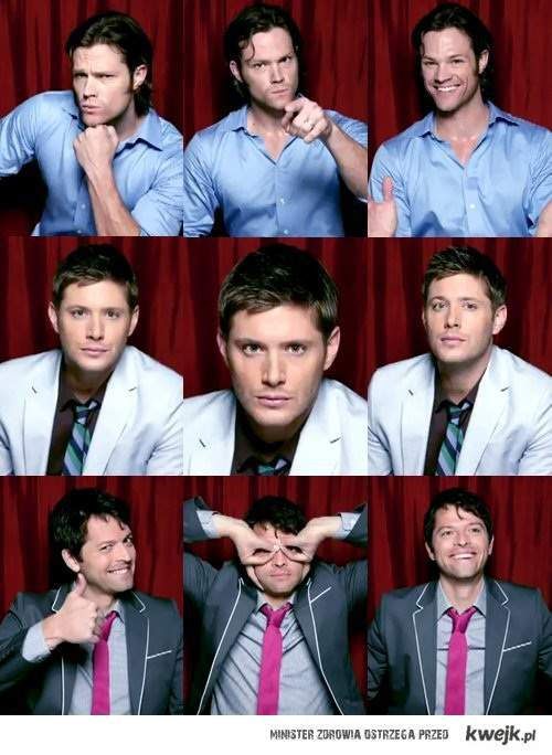 Jared/Jensen/Misha <3