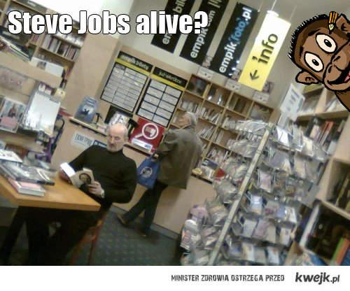 Steve Jobs żyje?