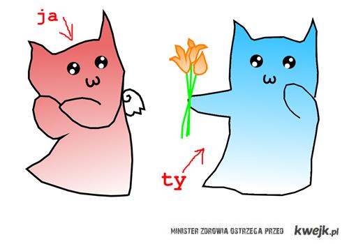 ty i ja = kwiaty