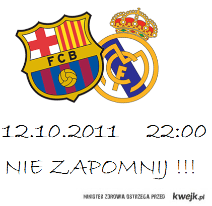 Fc Barcelona VS Real Madryt