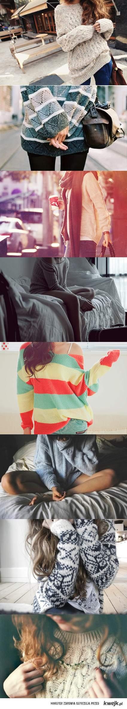 wełniane swetry są urocze <3