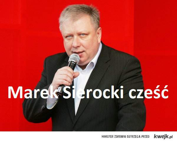 Marek sierocki cześć