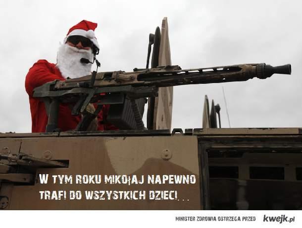soldier santa