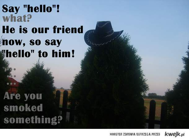 kapelusz i jusz