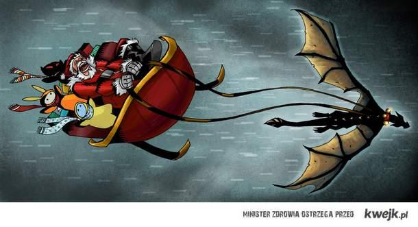 Santa Dragonborn Claus