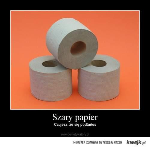 Papier szary