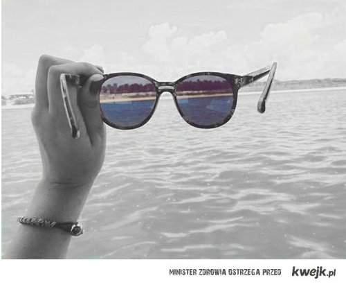 okulary szczęścia