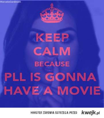 KEEP CALM BECAUSE...