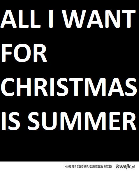 ALL I WANT 4 CHRISTMAS !