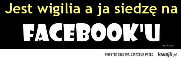 Wigilia na Facebook'u