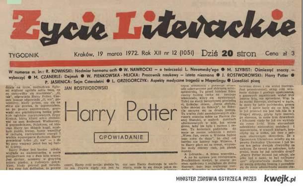 Harry Potter - byliśmy pierwsi