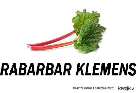RABARBAR KLEMENS~<3