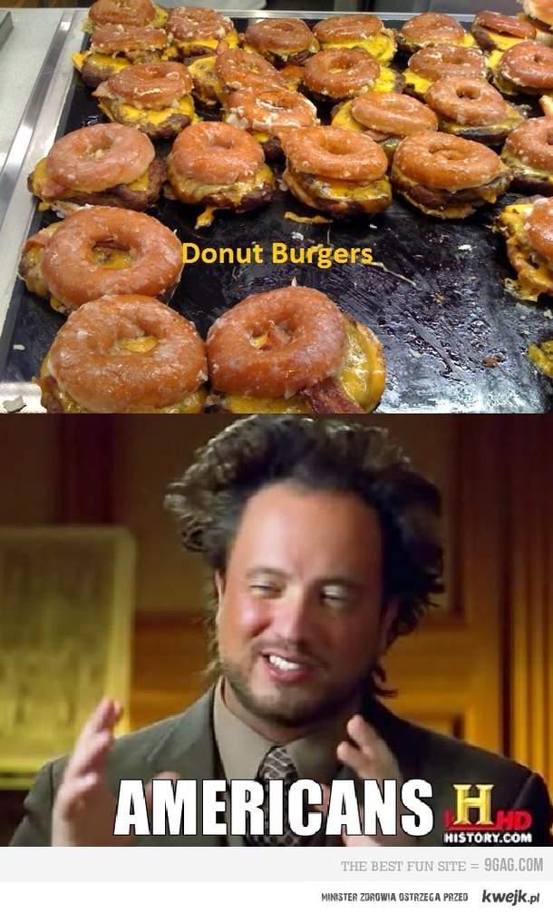 Donut Burgers