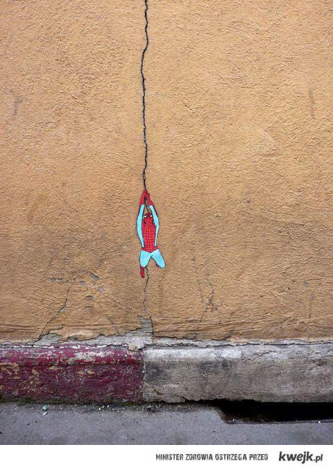 spidey wall