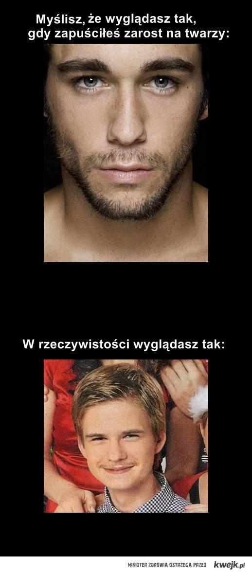 dziewiczy wąs