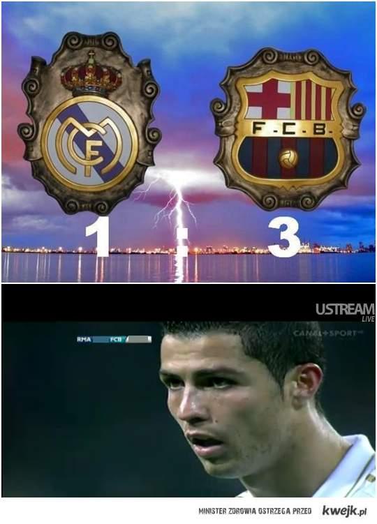 Ronaldo nie może uwierzyć ;d