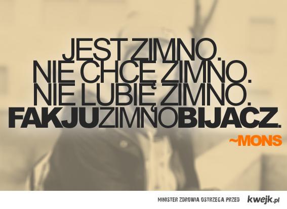 MONSOWA ZIMA