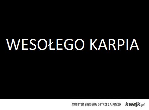 Wesołego Karpia:)