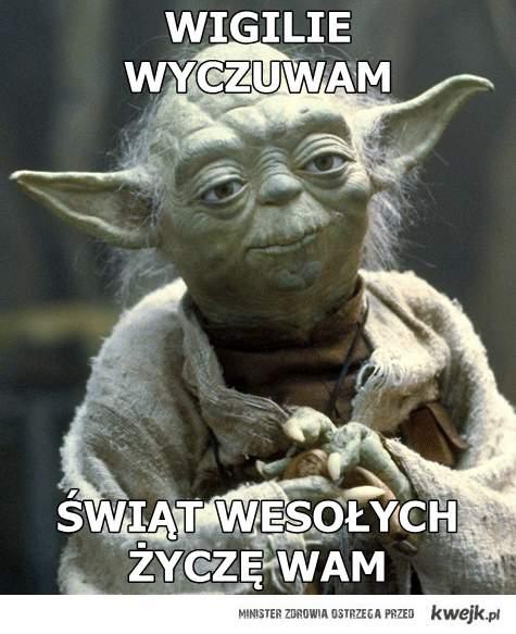 Yoda i święta