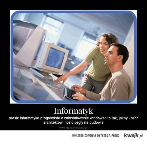 Prosić informatyka
