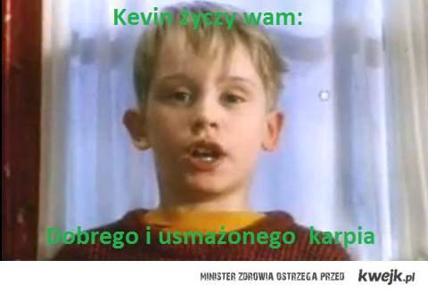 Kevin życzy