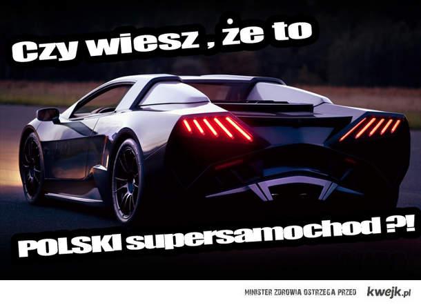polski supersamochód