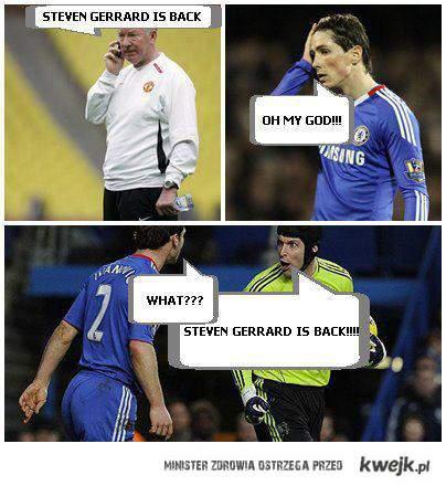 Gerrard back
