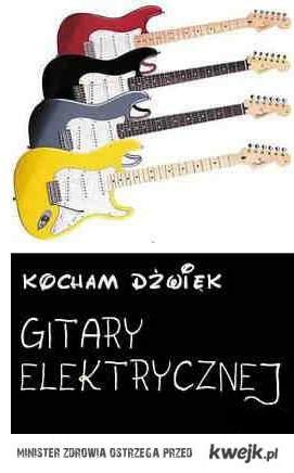 kocham gitarę elektryczną <3