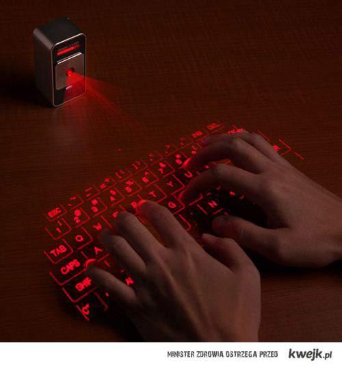świetlna klawiatura