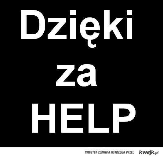 Pomocy.