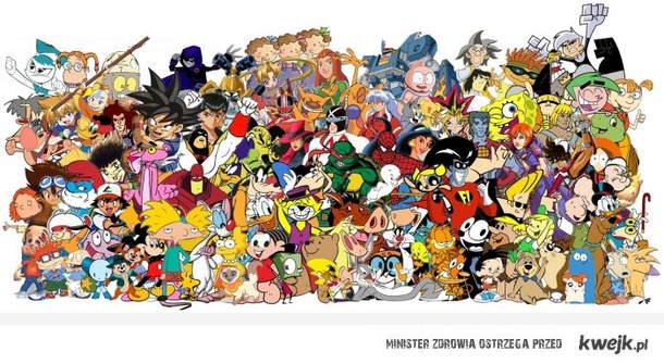 Całe moje dzieciństwo na jednym obrazku