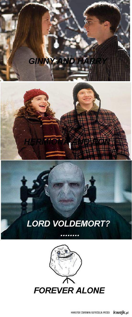VOLDEMORT IT'S FOREVER ALONE