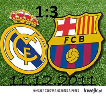 Fc Barcelona 3 : 1 Real Madrid
