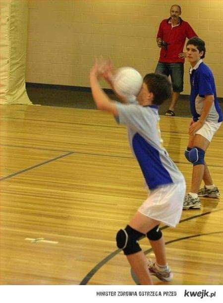 Tak gram w siatkówkę