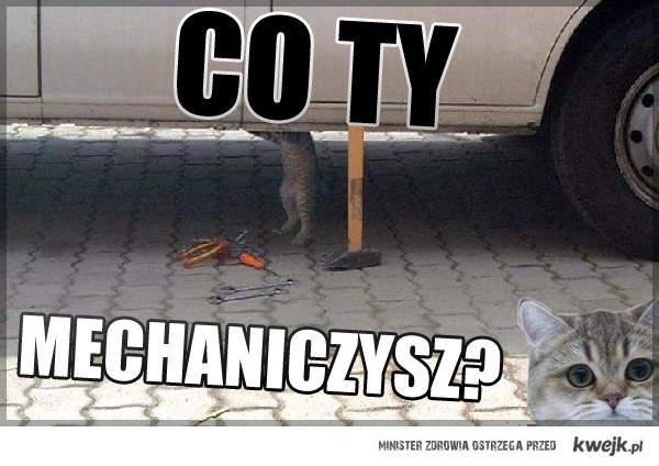 Co Ty mechaniczysz?