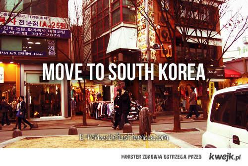 move to Korea