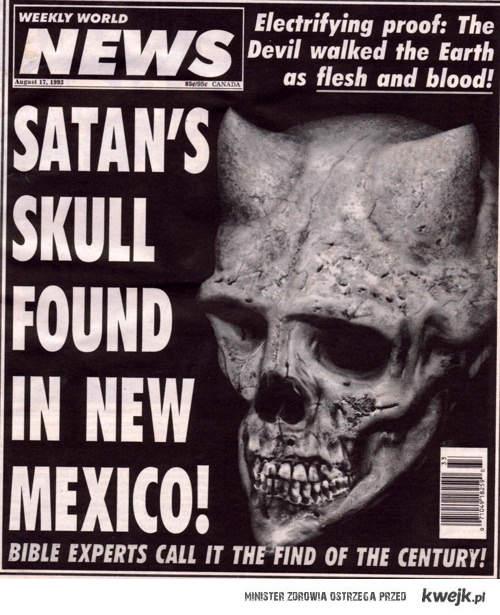 Szatańska czacha