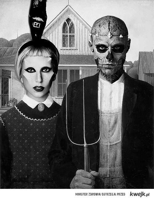 lady gaga & zombie boy