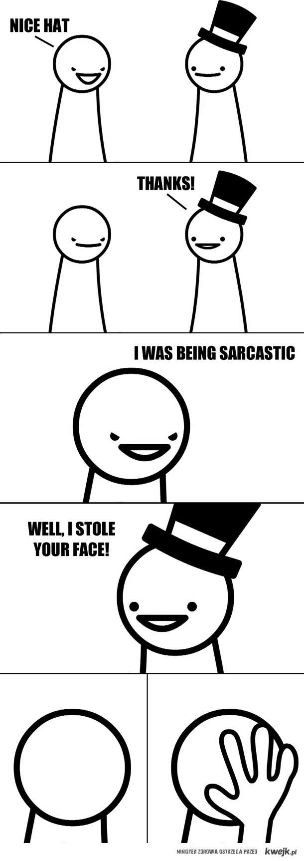 ukradłem ci twarz
