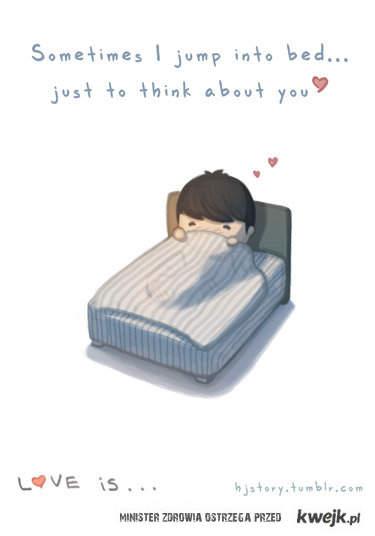 Myśleć o Tobie...