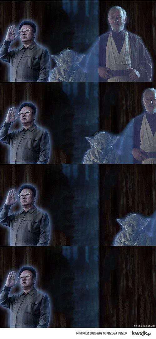 Kim Dzong IL Yoda